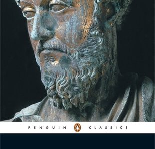 Book Cover, Meditations by Marcus Aurelius